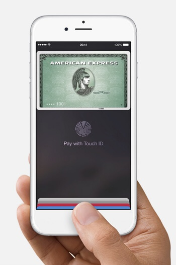 Apple Pay home screen