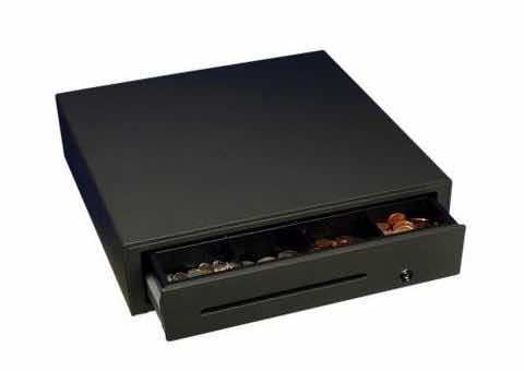 cash drawer with money