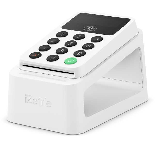 iZettle Reader 2 on iZettle Dock 2